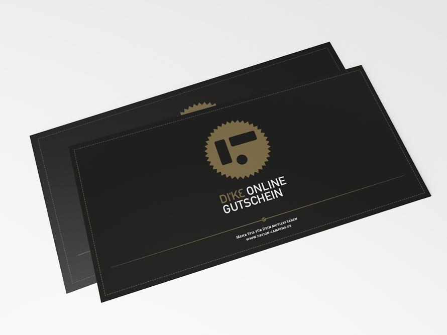 DI\'KE Online Gutschein | DI\'KE Design Camping